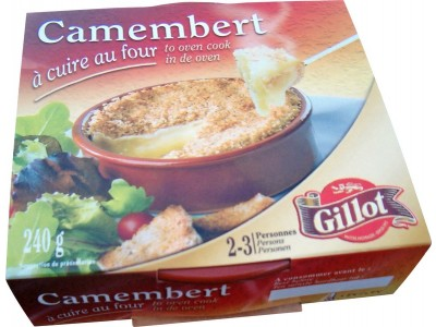 CAMEMBERT AU FOUR GILLOT