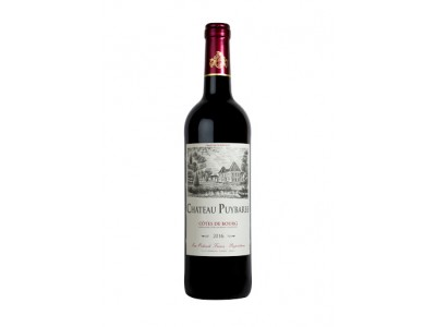PUYBARBE CHATEAU COTES DE BOURG RED 2016
